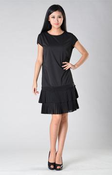 纯棉短袖连衣裙加工