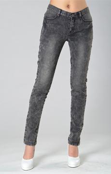SY010喷沙洗水牛仔长裤服装加工
