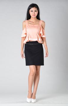 SY015吊带上衣半裙服装加工
