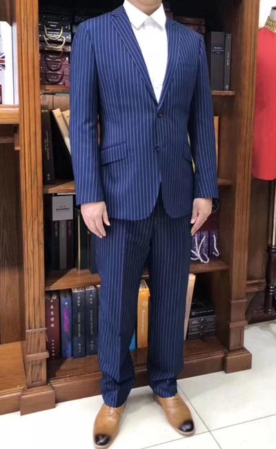 高贵蓝职业装套装
